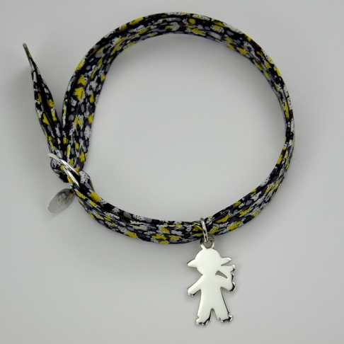 Breton sur bracelet Liberty
