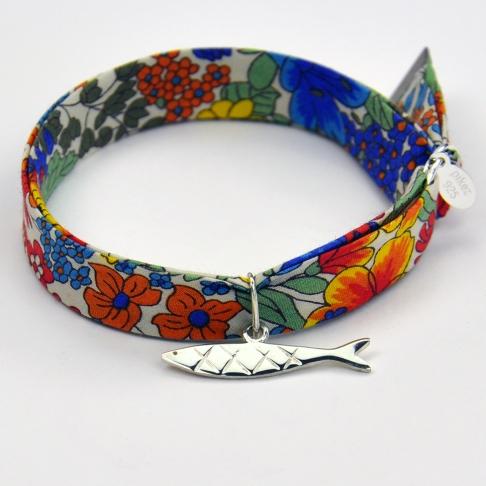 Sardine sur bracelet Liberty