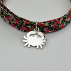 Crabe sur bracelet Liberty