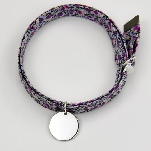 Médaillon sur bracelet Liberty
