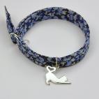 chat coeur sur bracelet Liberty