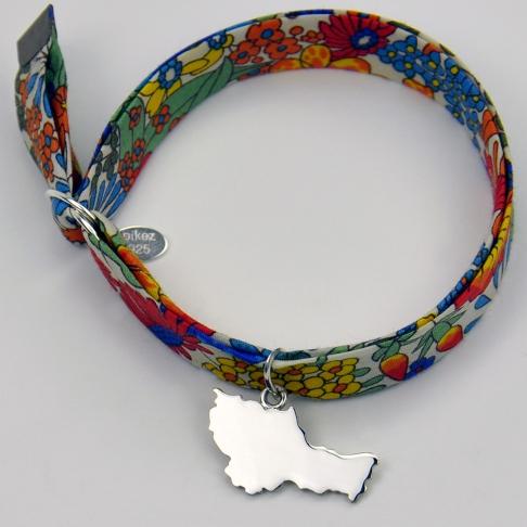 Charms Belle-île-en-mer sur bracelet Liberty