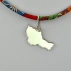 Belle-île-en-mer sur collier Liberty