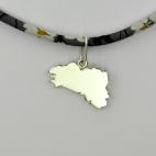 Bretagne sur collier Liberty