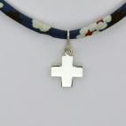 Croix sur collier Liberty
