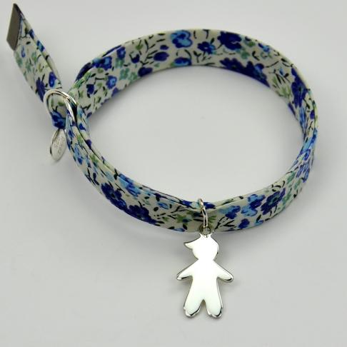 Charms Garçon sur bracelet Liberty