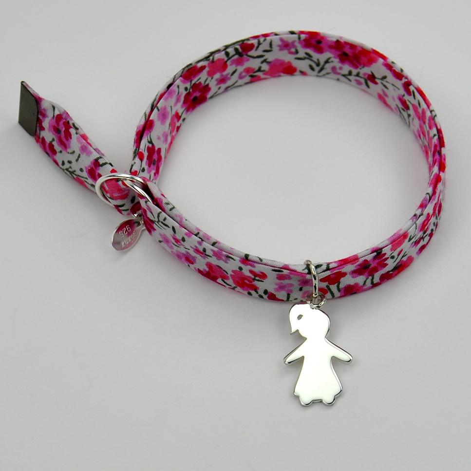 Fille sur bracelet Liberty