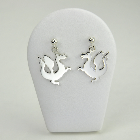 Dragons en boucles d'oreilles