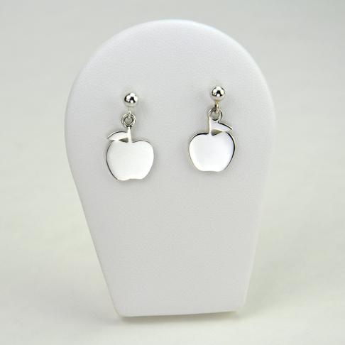 Pommes en boucles d'oreilles