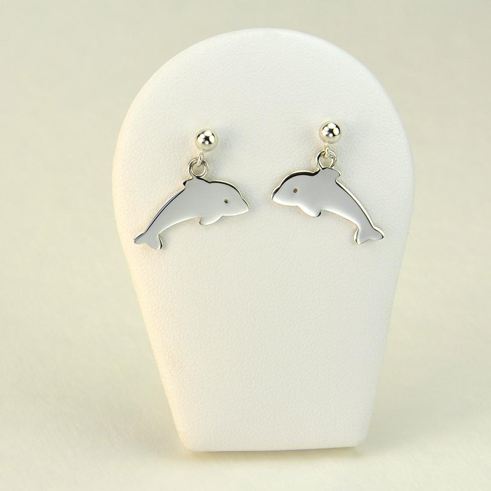 Dauphins en boucles d'oreilles