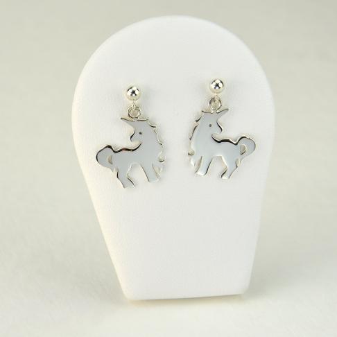 Licornes en boucles d'oreilles