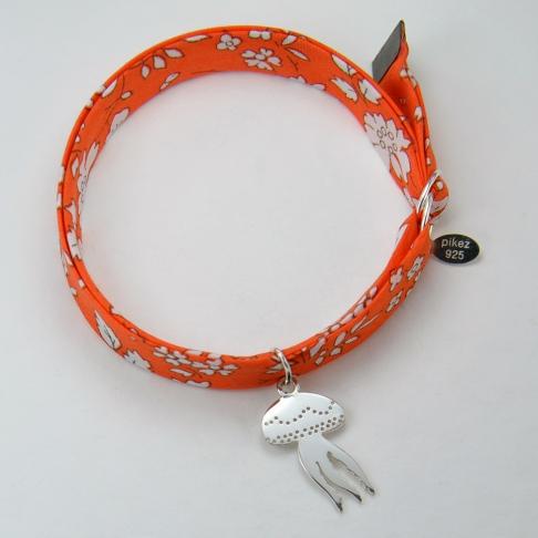 Méduse sur bracelet Liberty