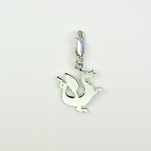 Charms Dragon sur mousqueton