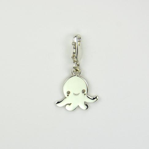 Charms Petite pieuvre sur mousqueton