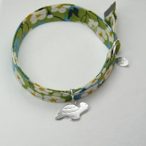 Tortue sur bracelet Liberty