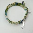 Girafe sur bracelet Liberty