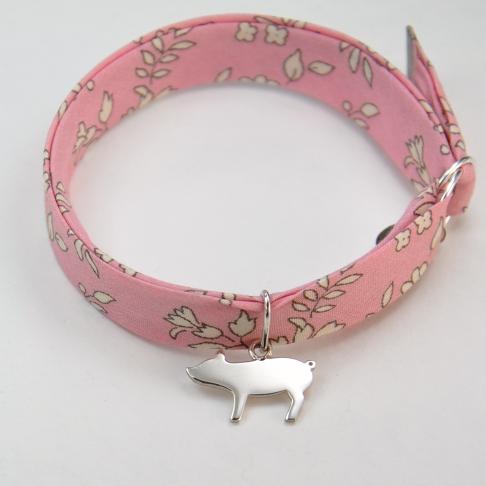 Petit cochon sur bracelet Liberty