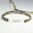 """Bracelet message """"Bonheur"""""""