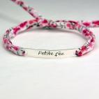 """Bracelet message """"Petite fée"""""""
