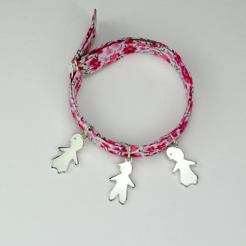 Bambins sur bracelet Liberty