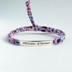 """Bracelet message """"Maman d'amour"""""""