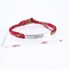 "Bracelet message ""Love"""