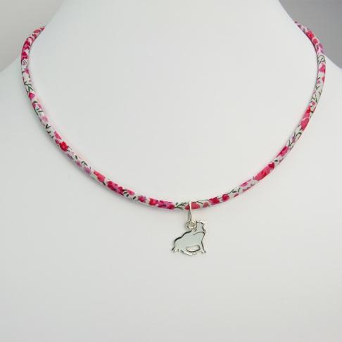 Pendentif Prince charmant sur collier Liberty