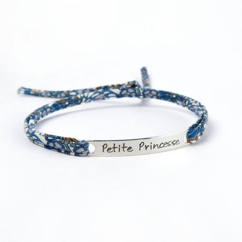 """Bracelet message """"Petite princesse"""""""