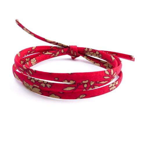 Cordon Liberty Capel rouge