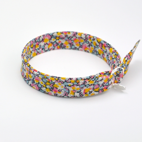 Bracelet Liberty Pepper rose/jaune