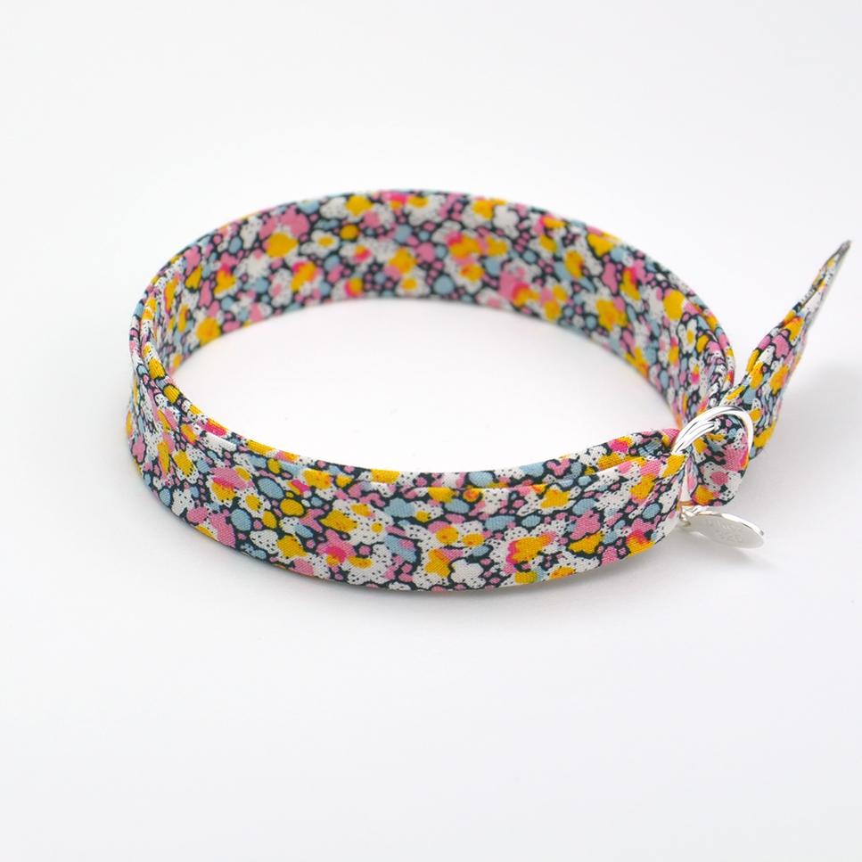 Bracelet Liberty Pepper rose/jaune
