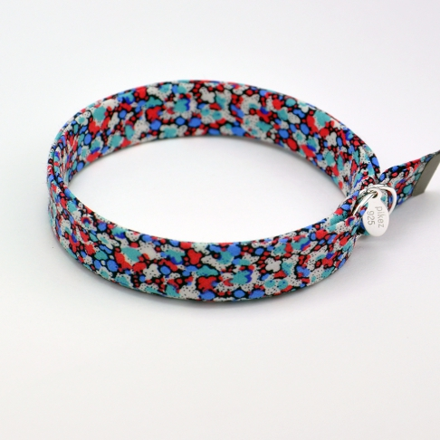Bracelet Liberty Pepper rouge/bleu