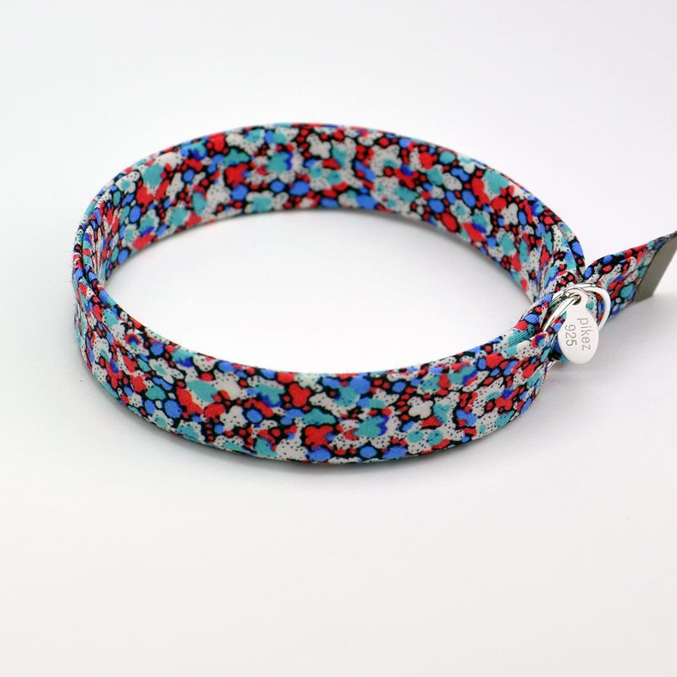 Bracelet Liberty Pepper rouge/bleu