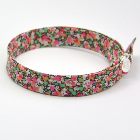 Bracelet Liberty Pepper rose/vert