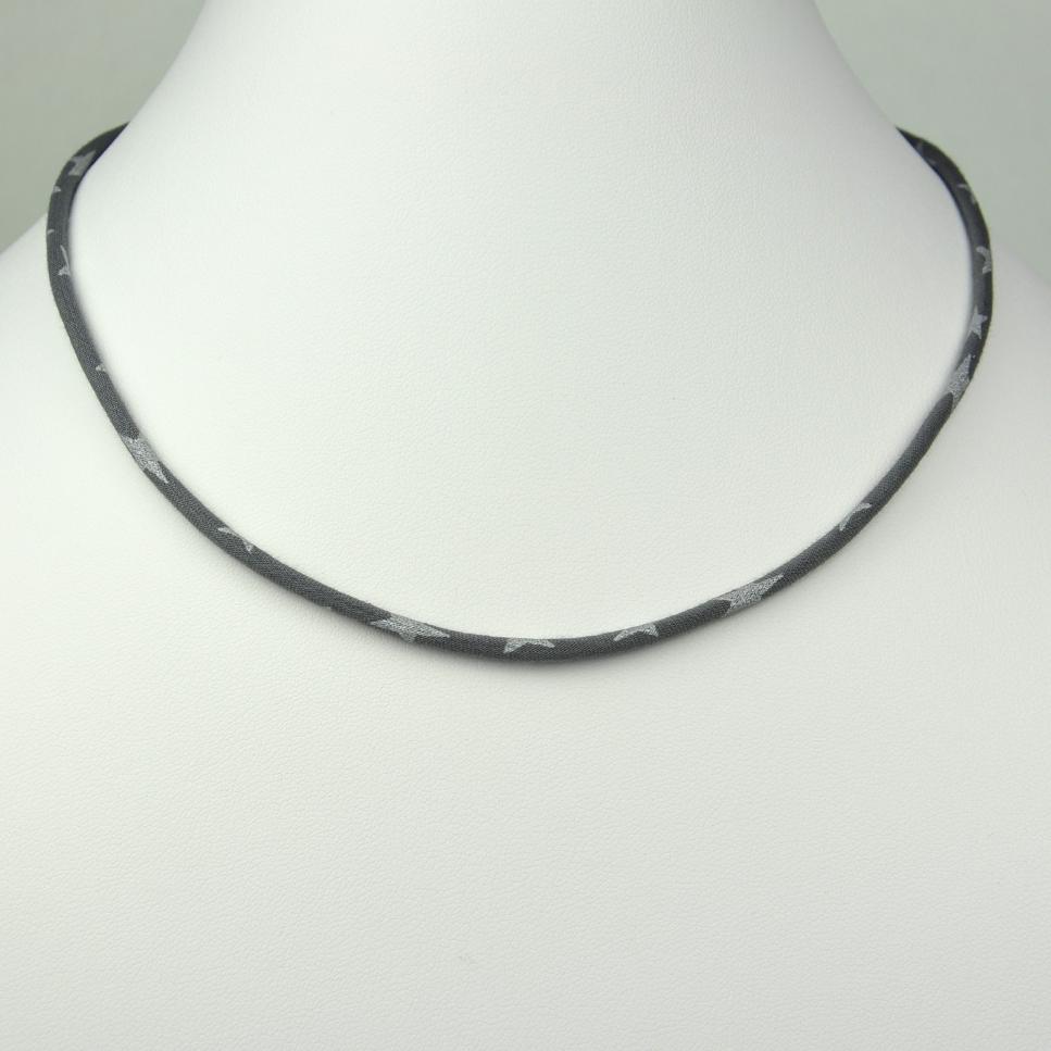 Collier Etoile gris