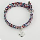 Ancre sur bracelet Liberty