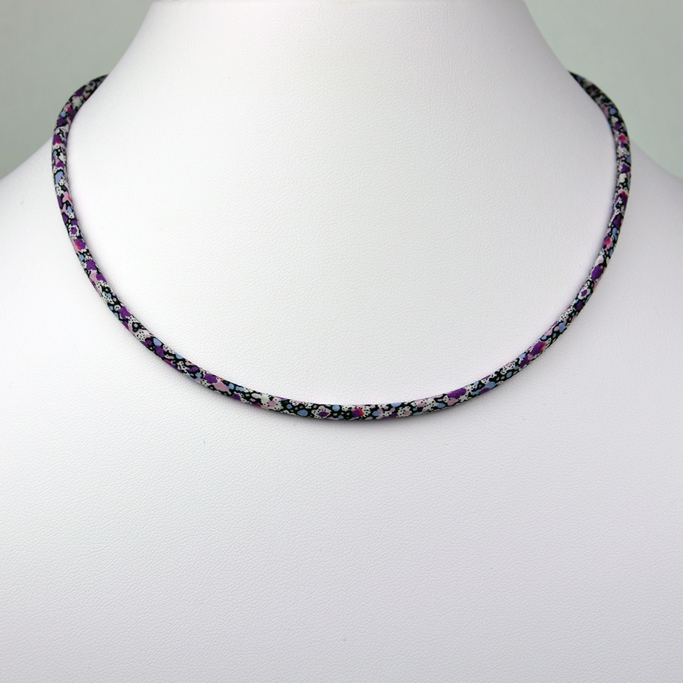 Collier Liberty Pepper violet