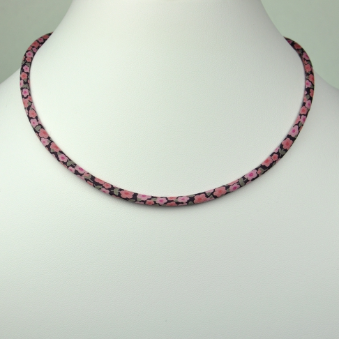 Collier Liberty Penny rose