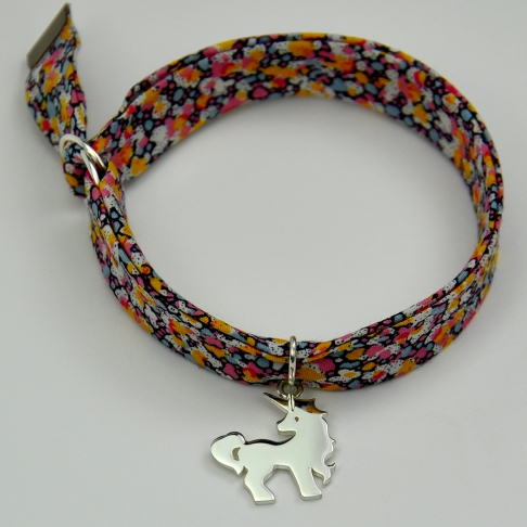Licorne sur bracelet Liberty