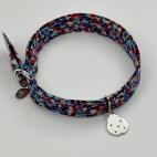 Coccinelle sur bracelet Liberty