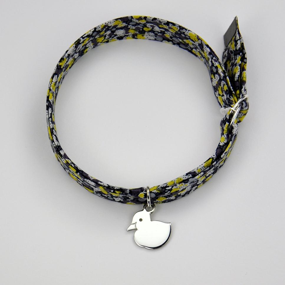 Caneton sur bracelet Liberty